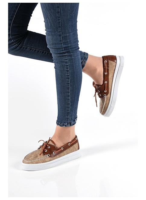 Sapin Loafer Ayakkabı Vizon
